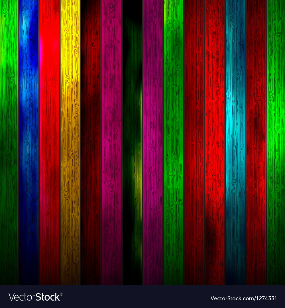 Abstract wood texture background colorful vector | Price: 1 Credit (USD $1)
