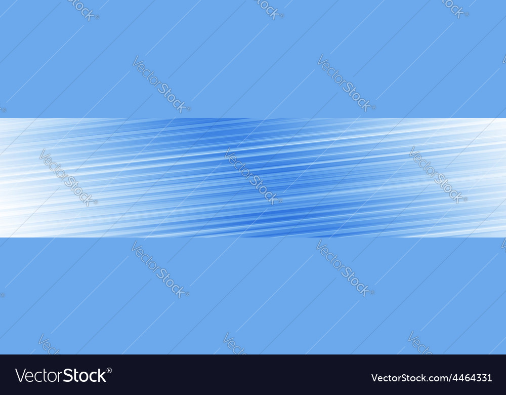 Blue lines panoramic background vector | Price: 1 Credit (USD $1)