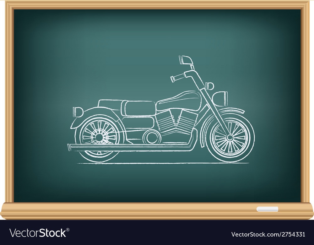 Board motorcycle vector | Price: 1 Credit (USD $1)