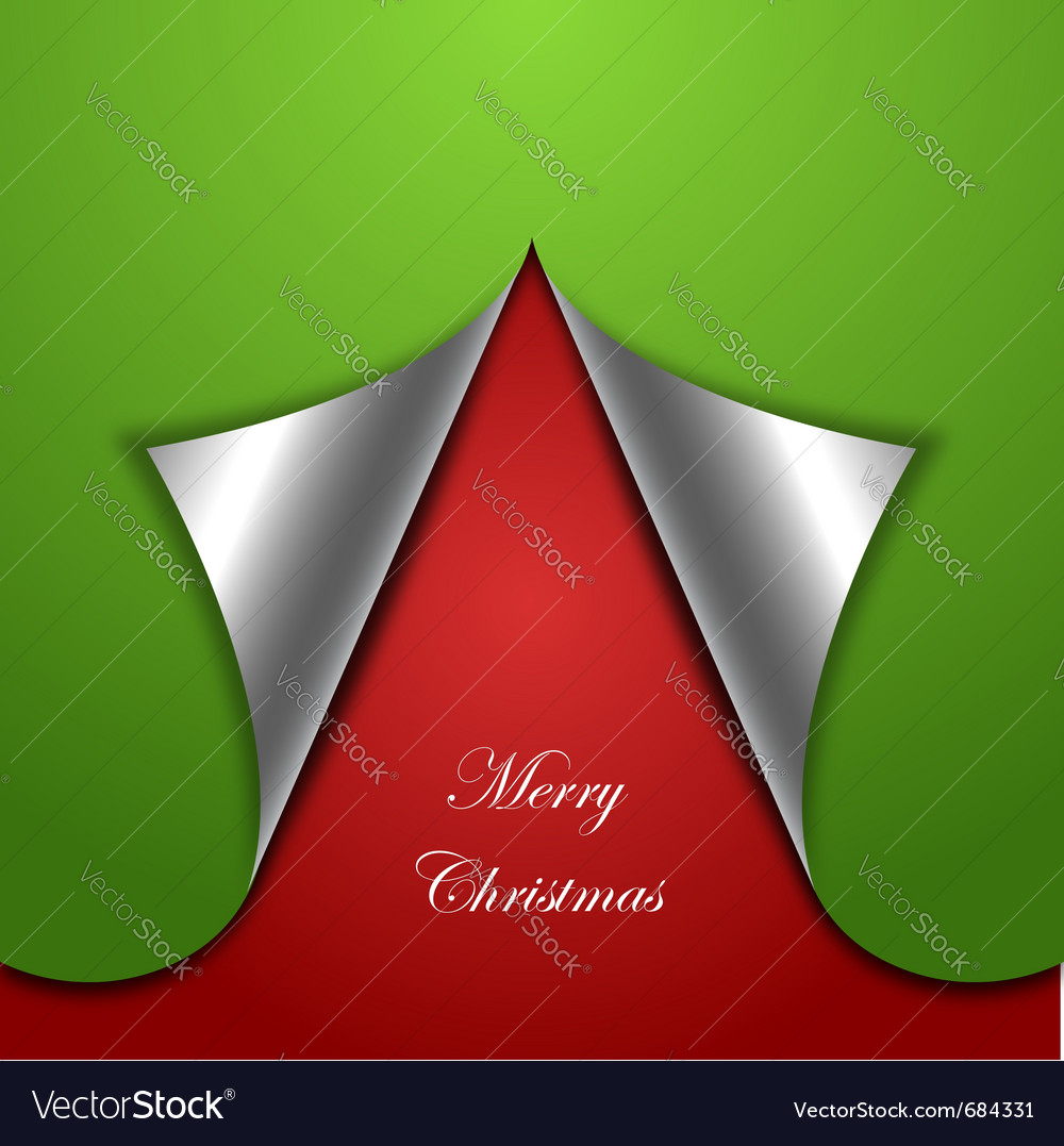 Chirstmas tree background vector | Price: 1 Credit (USD $1)