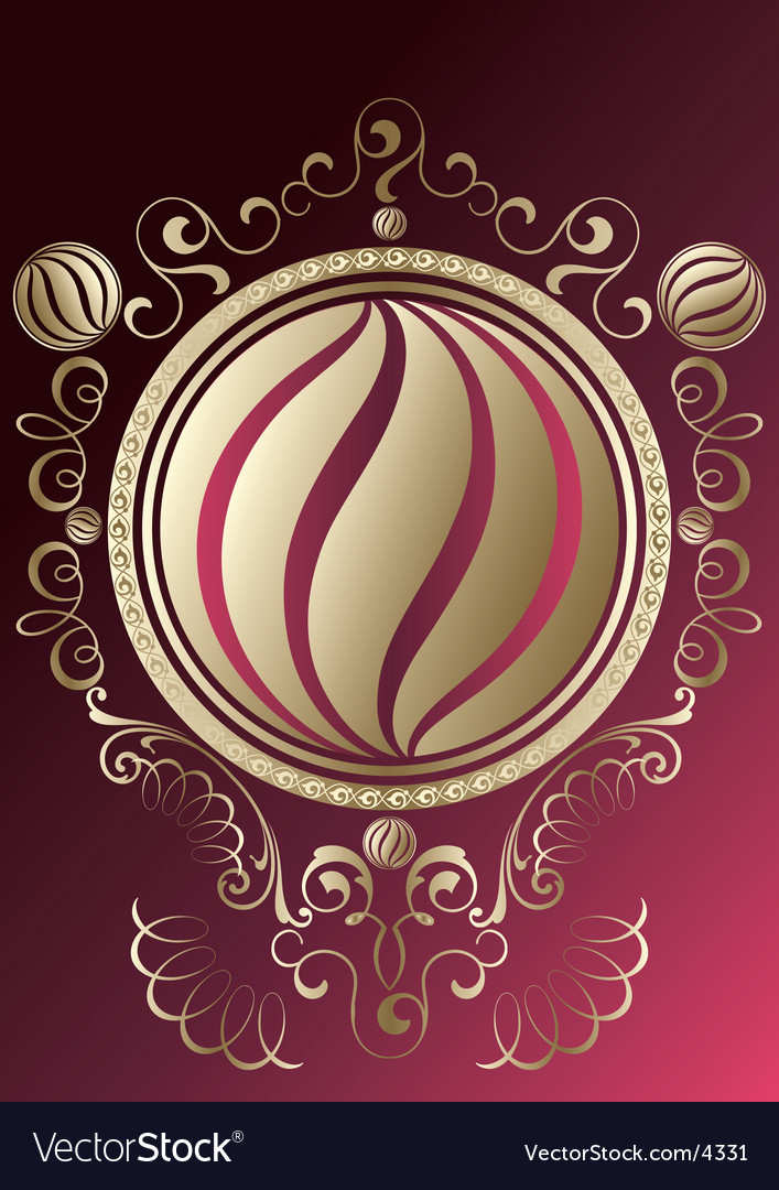 Ornate background vector   Price: 1 Credit (USD $1)