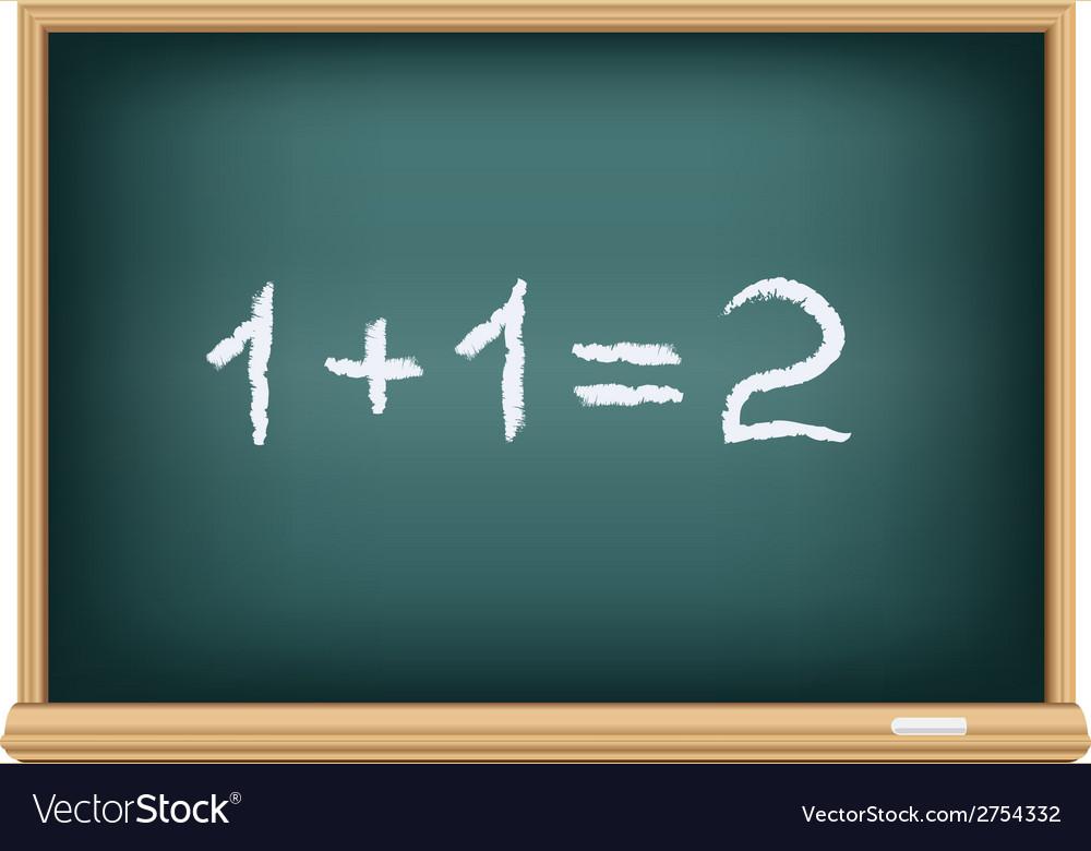 Board mathematics vector | Price: 1 Credit (USD $1)