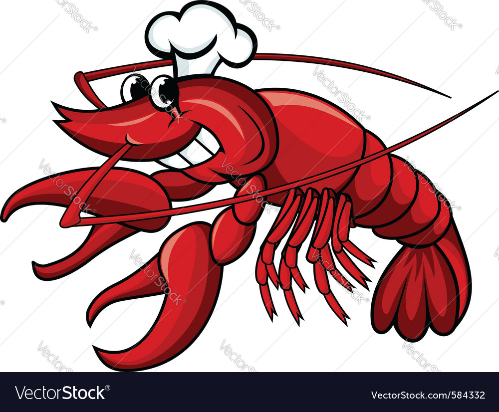 Crayfish or lobster vector | Price: 1 Credit (USD $1)