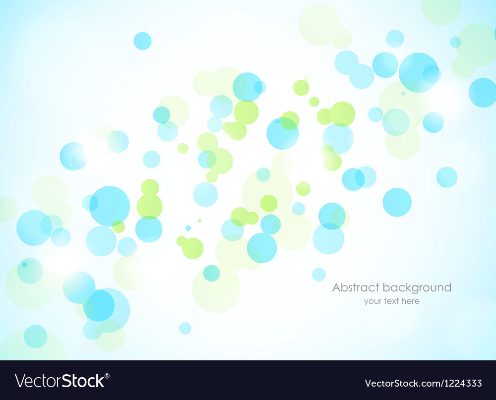 Abstract background with circles vector | Price: 1 Credit (USD $1)