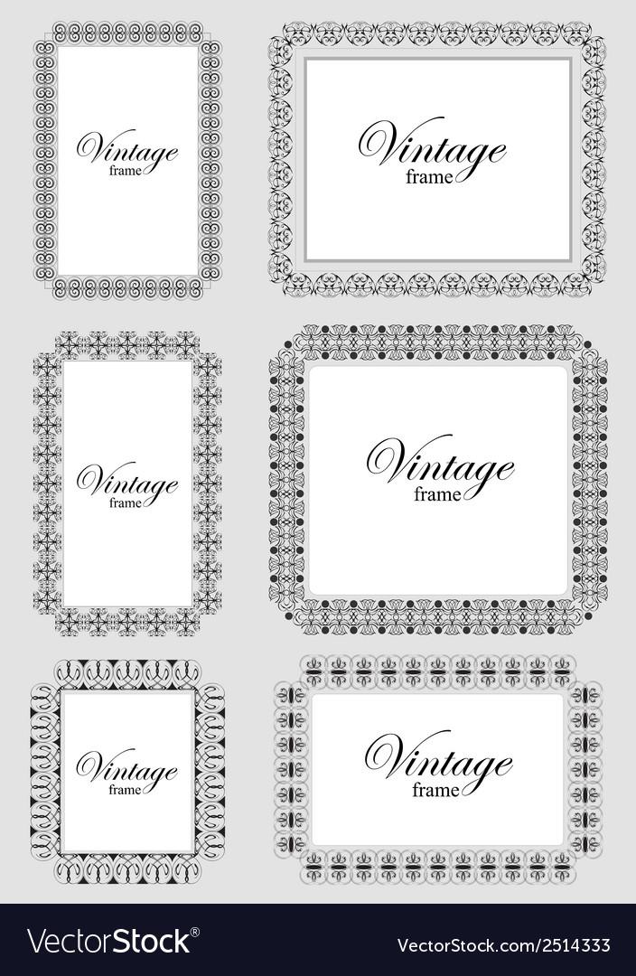 Al 0201 vintage frame vector   Price: 1 Credit (USD $1)