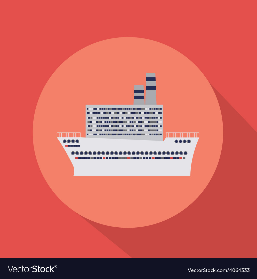 Caribbean cruise design vector | Price: 1 Credit (USD $1)
