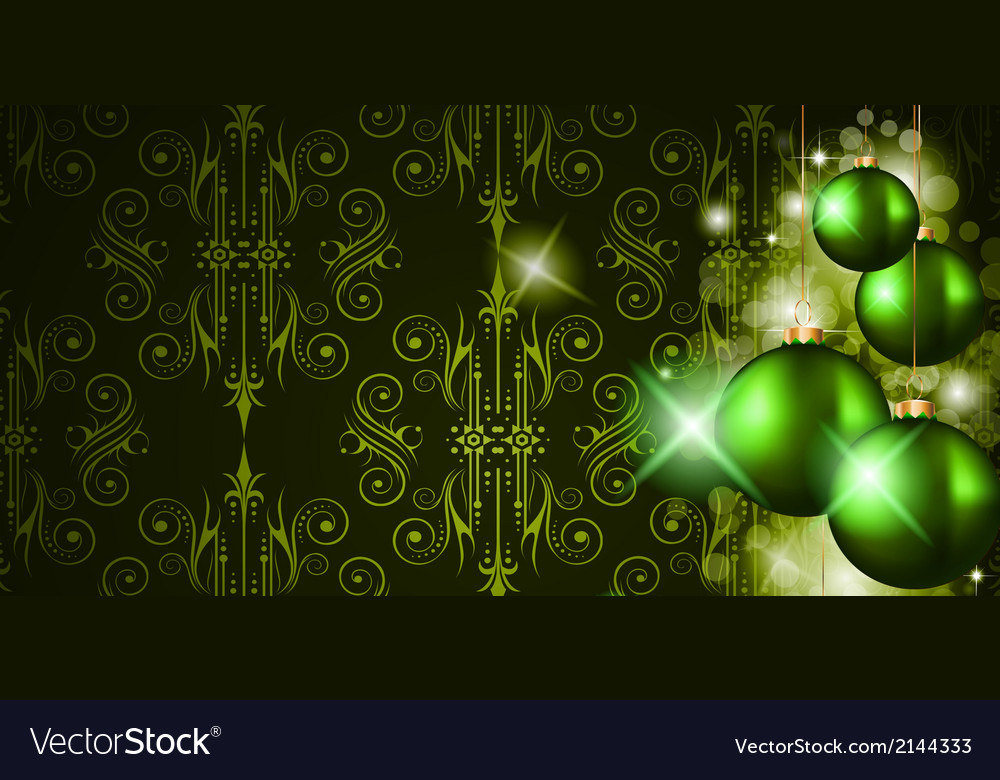 Elegant merry christmas background vector | Price: 1 Credit (USD $1)