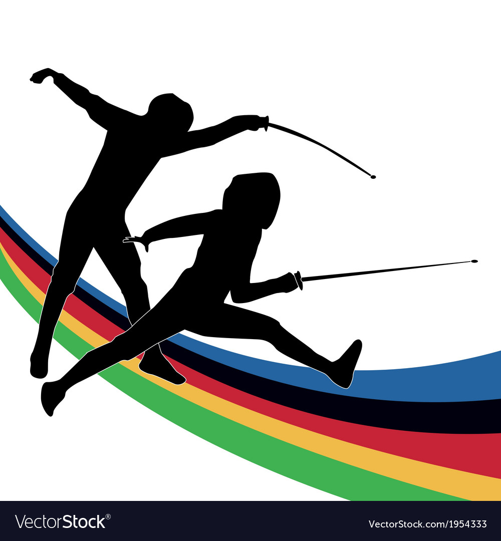 Olympic sporting background vector | Price: 1 Credit (USD $1)