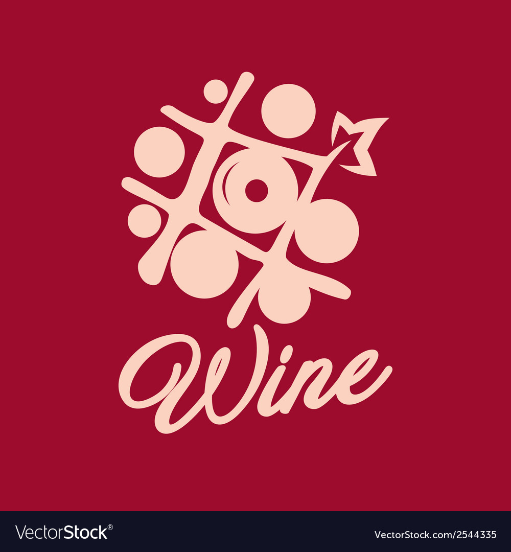 Wine shop sign vector | Price: 1 Credit (USD $1)