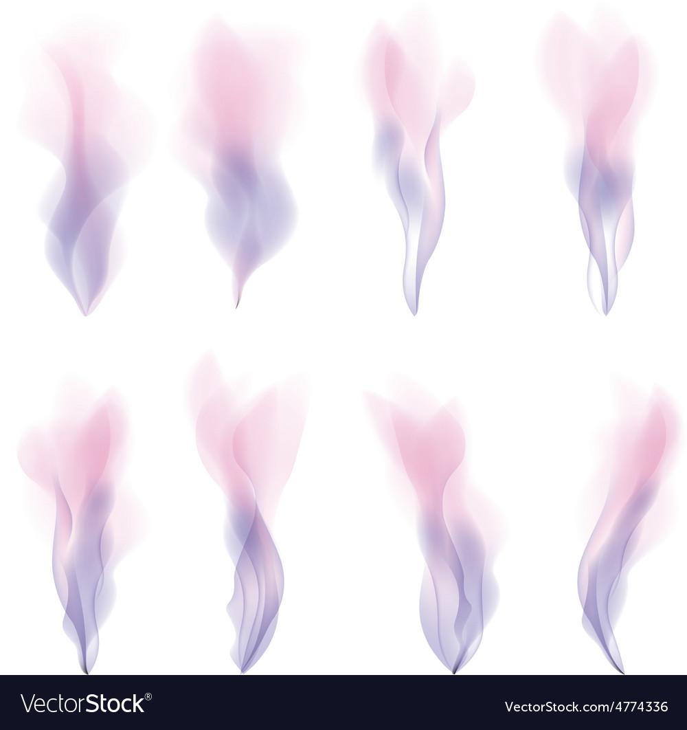 Pink smoke strokes background version vector | Price: 1 Credit (USD $1)