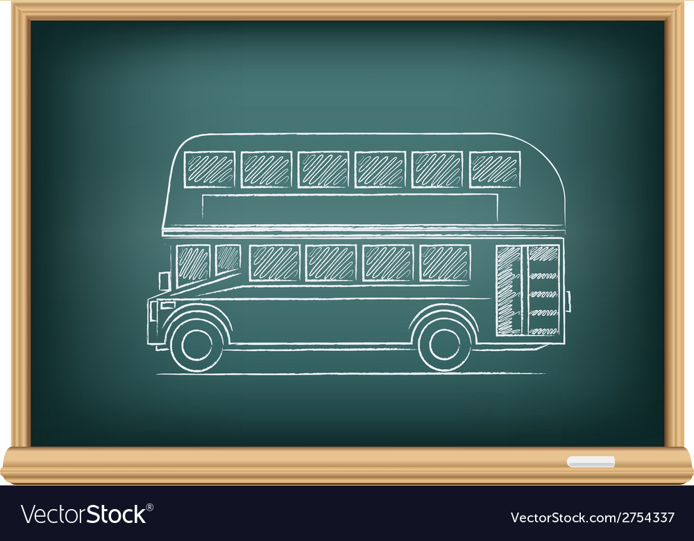 Board english bus vector | Price: 1 Credit (USD $1)