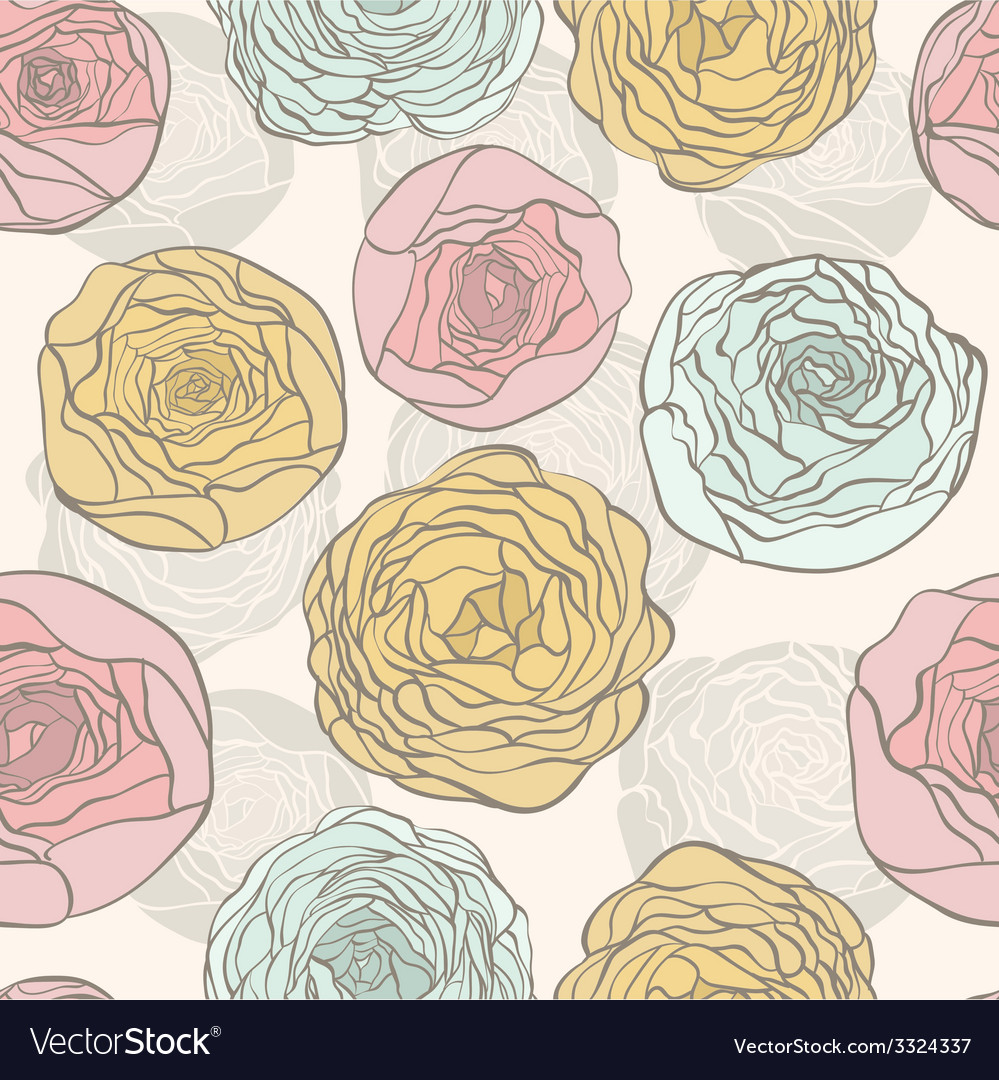 Colorfulflowers vector | Price: 1 Credit (USD $1)