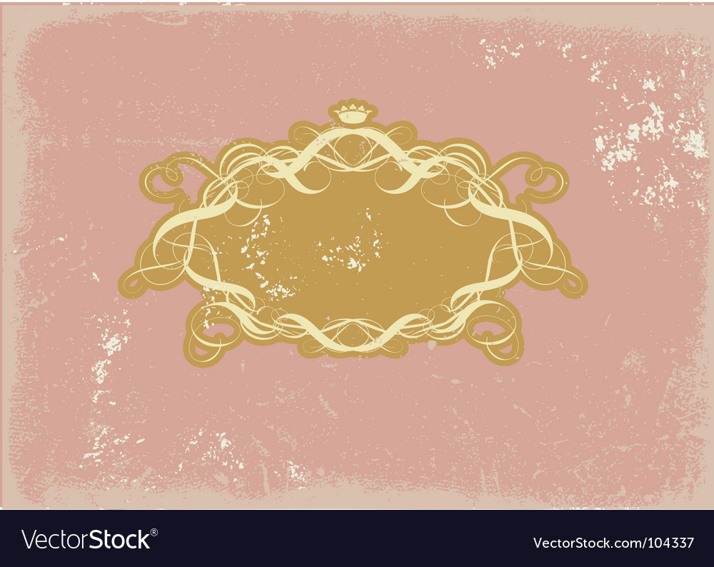 Heraldic frame vector | Price: 1 Credit (USD $1)