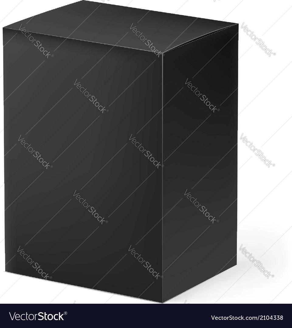 Black box vector | Price: 1 Credit (USD $1)