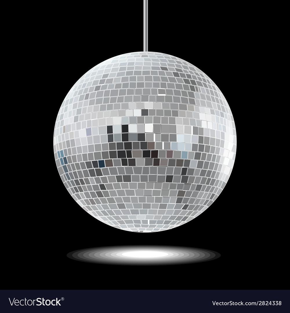 Mirror disco ball eps10 vector | Price: 1 Credit (USD $1)