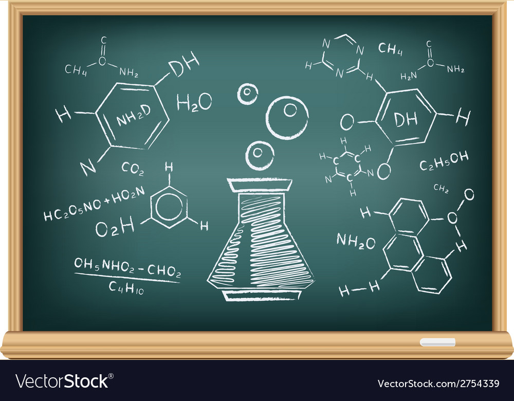 Board chemistry vector | Price: 1 Credit (USD $1)