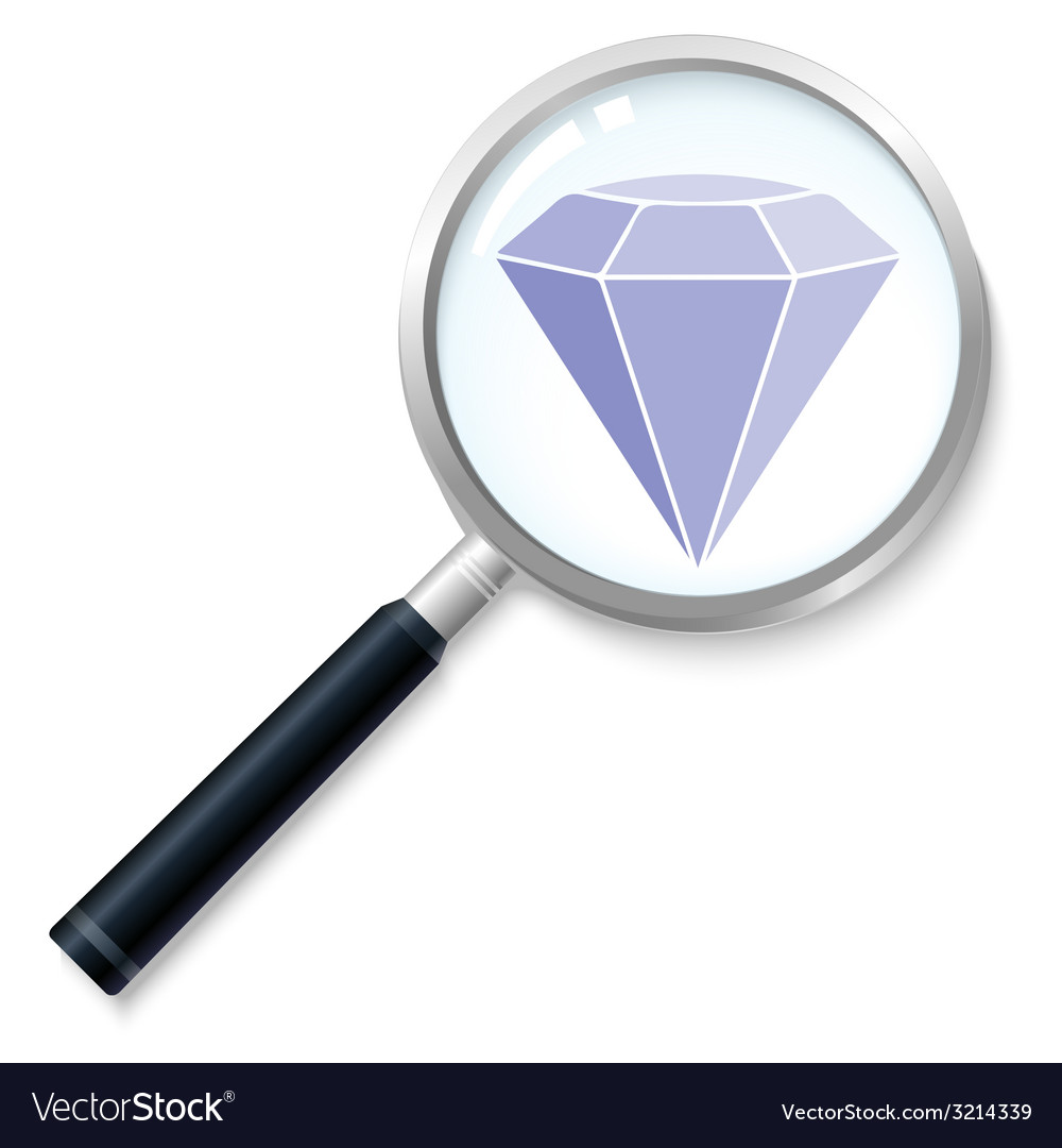 Diamondsearch vector | Price: 1 Credit (USD $1)