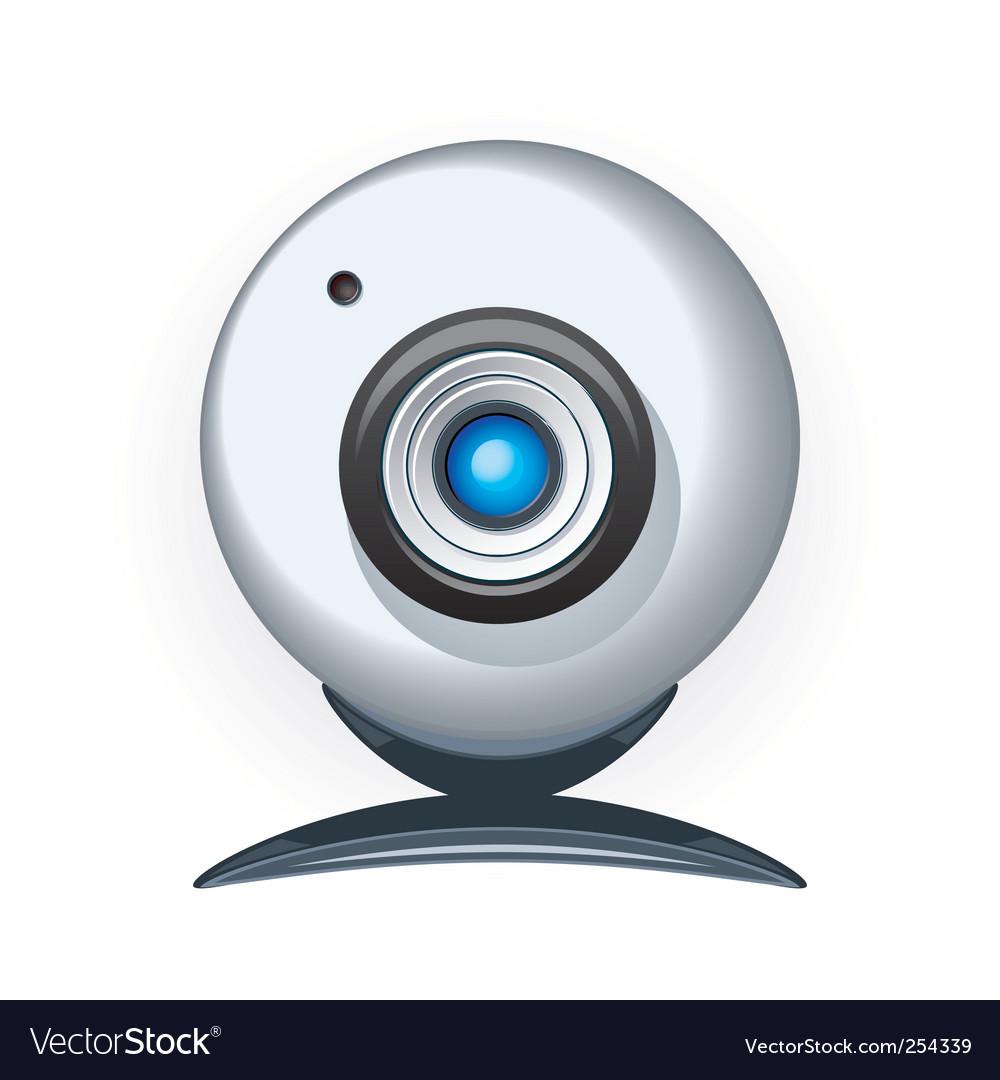Web camera vector | Price: 1 Credit (USD $1)
