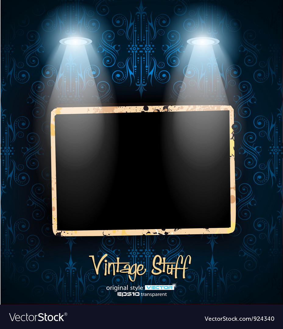 Antique distressed photoframes vector | Price: 3 Credit (USD $3)