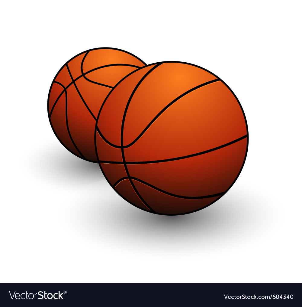 Basketball ball sign vector | Price: 1 Credit (USD $1)