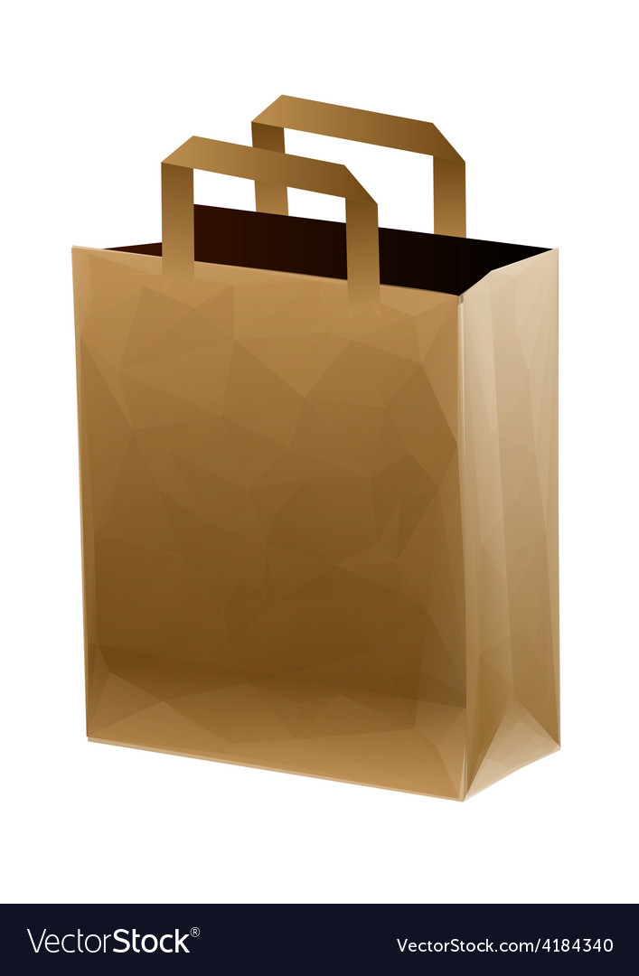 Brown shopping bag vector   Price: 1 Credit (USD $1)