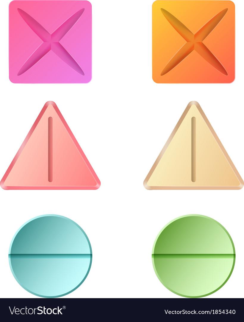 Medicine pills vector | Price: 1 Credit (USD $1)
