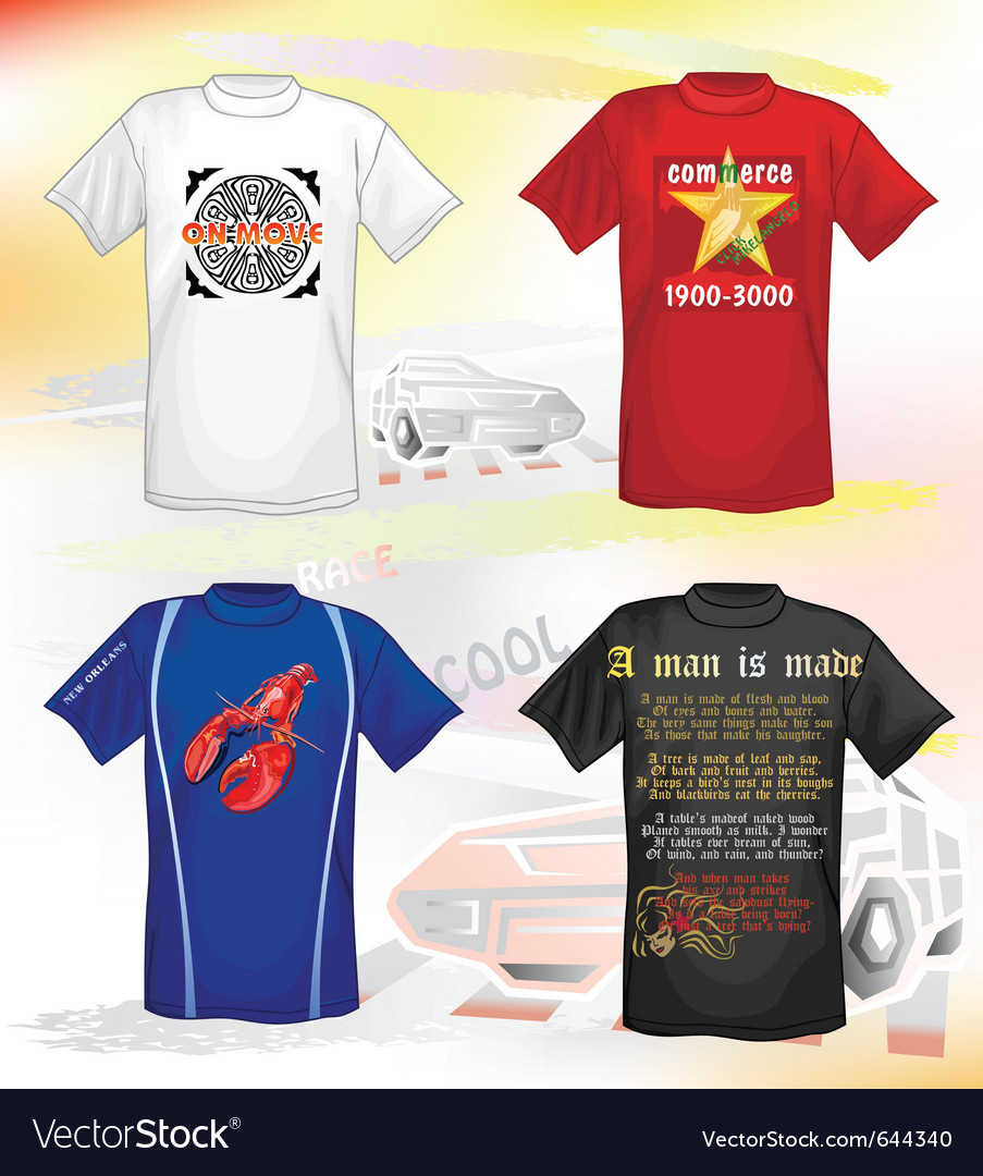 T-shirts design vector | Price: 3 Credit (USD $3)