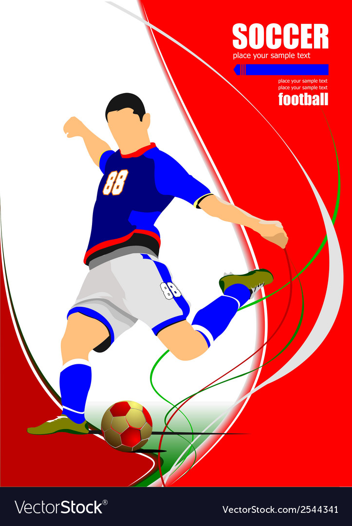 Al 1001 soccer 01 vector | Price: 1 Credit (USD $1)