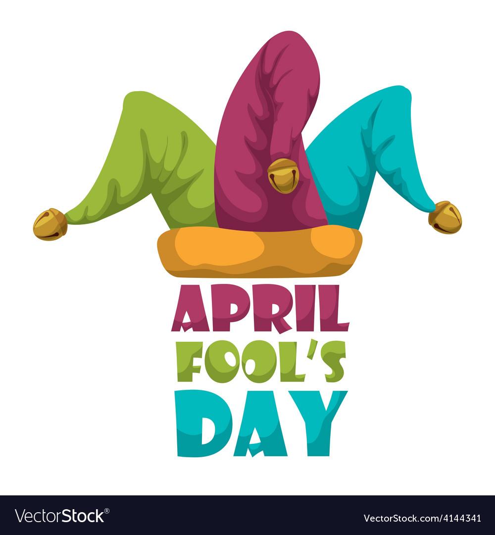 April fools day design vector | Price: 1 Credit (USD $1)