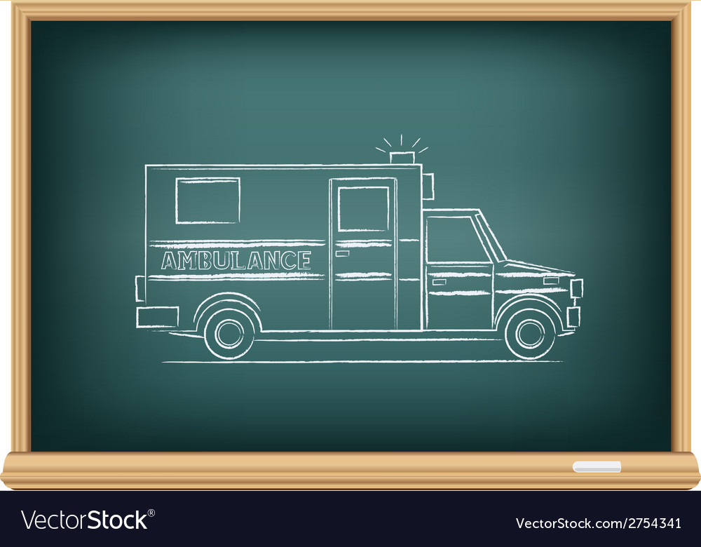 Board ambulance vector | Price: 1 Credit (USD $1)