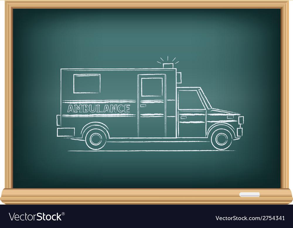Board ambulance vector | Price: 1 Credit (USD $1)