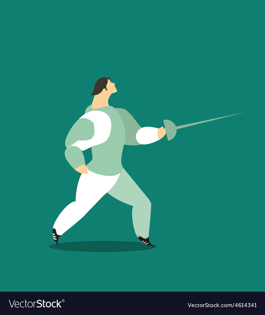Fencing vector | Price: 1 Credit (USD $1)