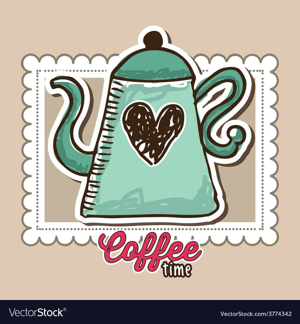Delicious coffee vector | Price: 1 Credit (USD $1)