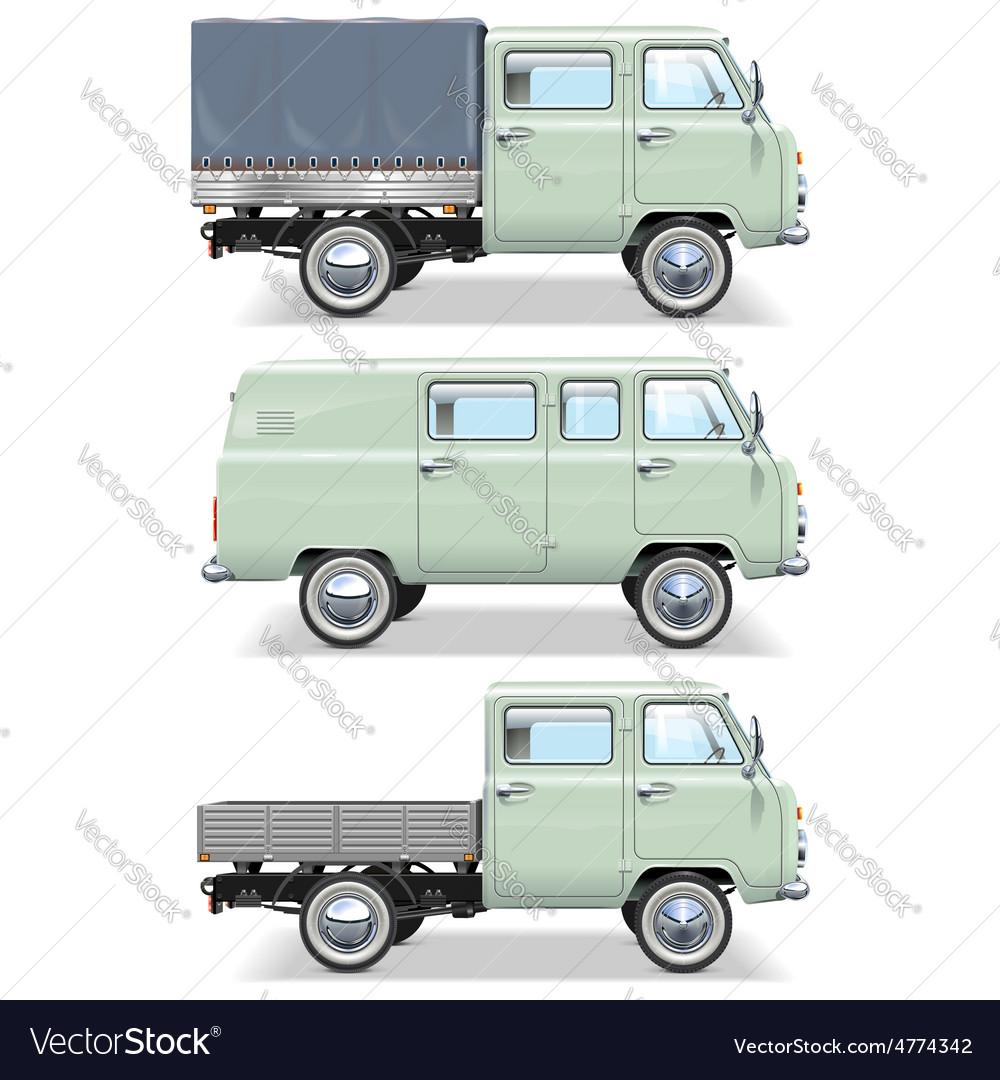 Minivan vector | Price: 5 Credit (USD $5)