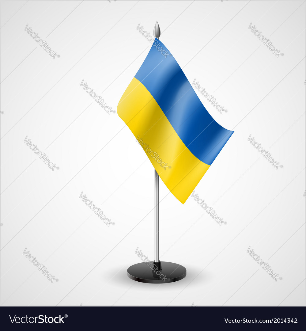 Table flag of ukraine vector | Price: 1 Credit (USD $1)