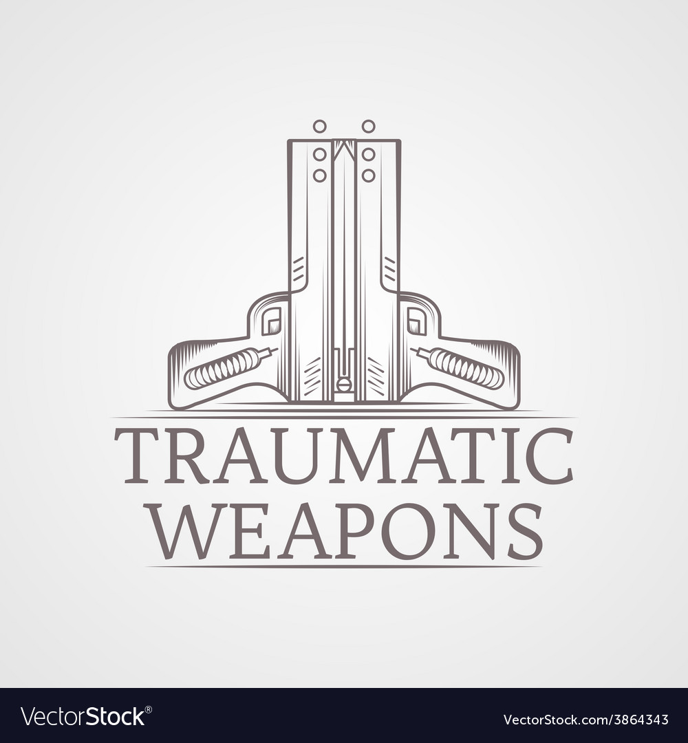 Abstract of traumatic weapons vector | Price: 1 Credit (USD $1)