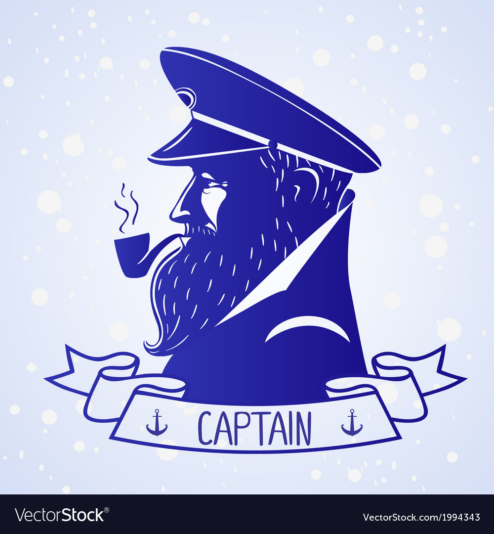 Captain vector | Price: 1 Credit (USD $1)