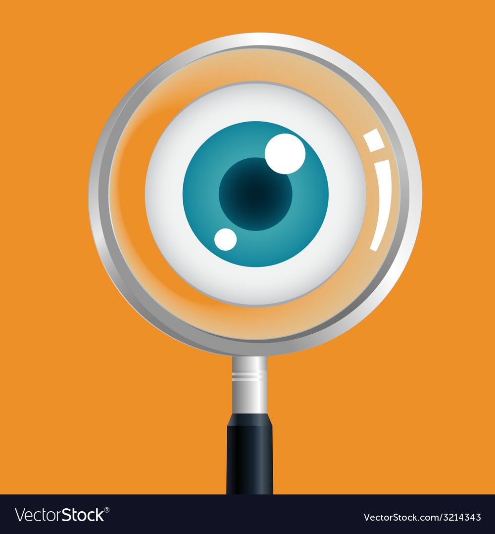 Eyesearch vector | Price: 1 Credit (USD $1)