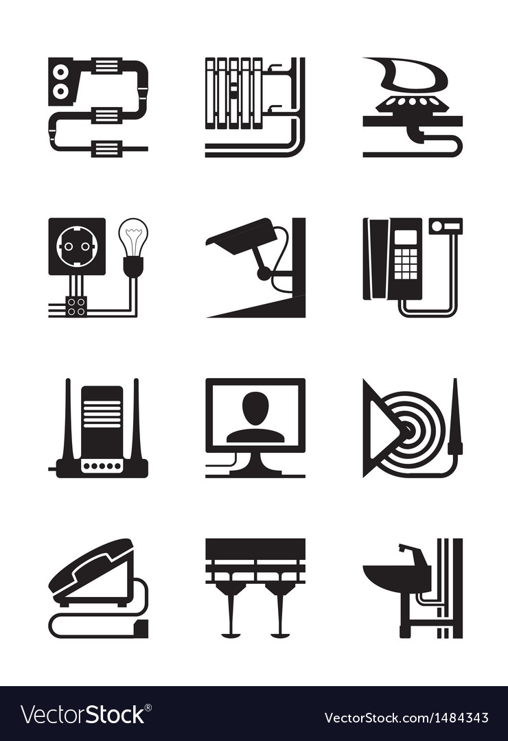 Industrial and construction installations vector   Price: 1 Credit (USD $1)