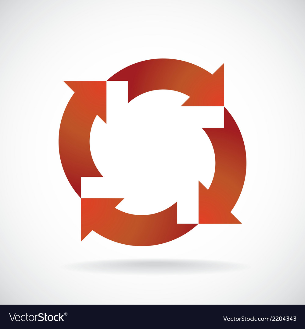Recycle wheel vector | Price: 1 Credit (USD $1)