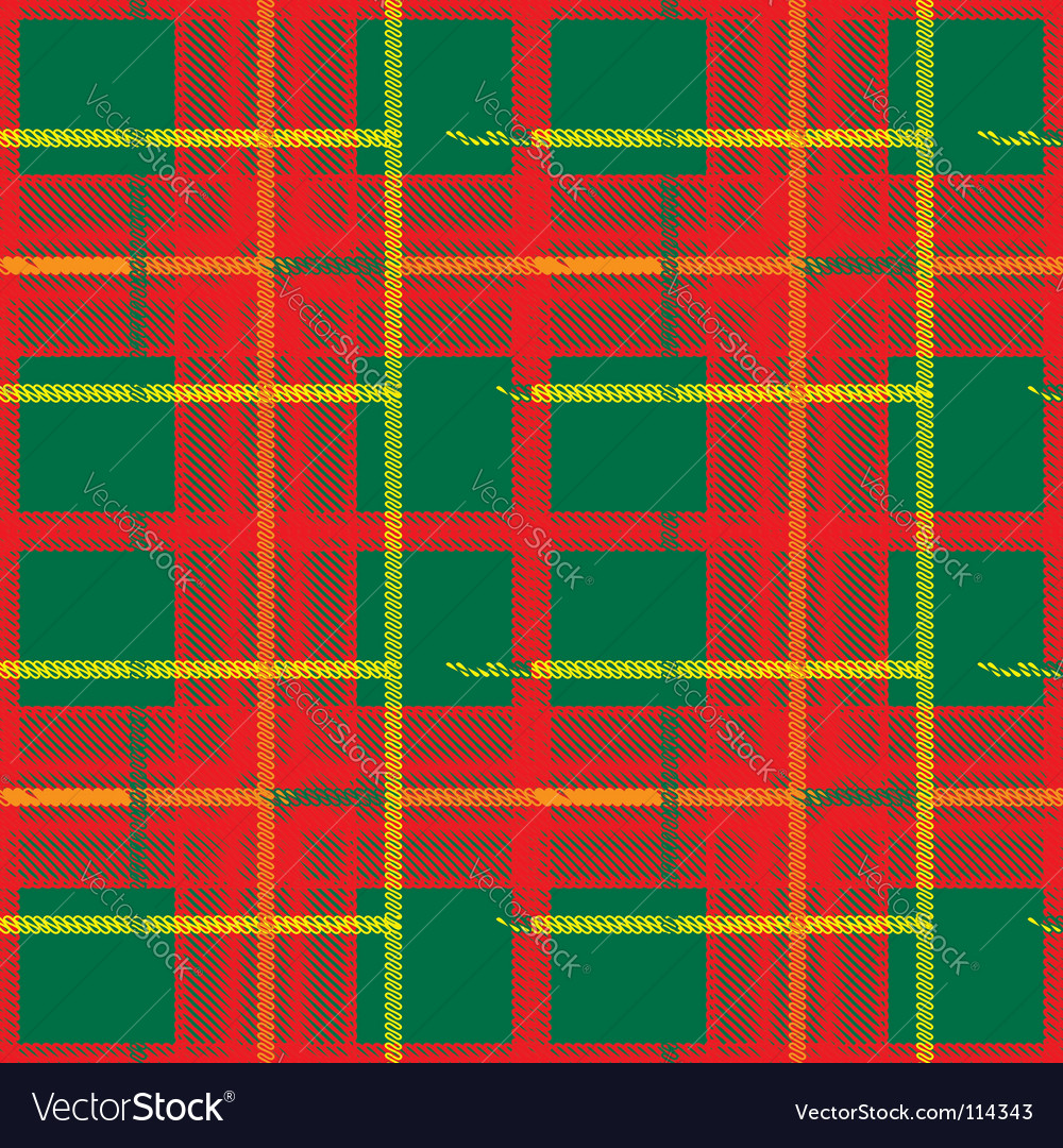 Traditional scottish plaid seamless pattern vector | Price: 1 Credit (USD $1)