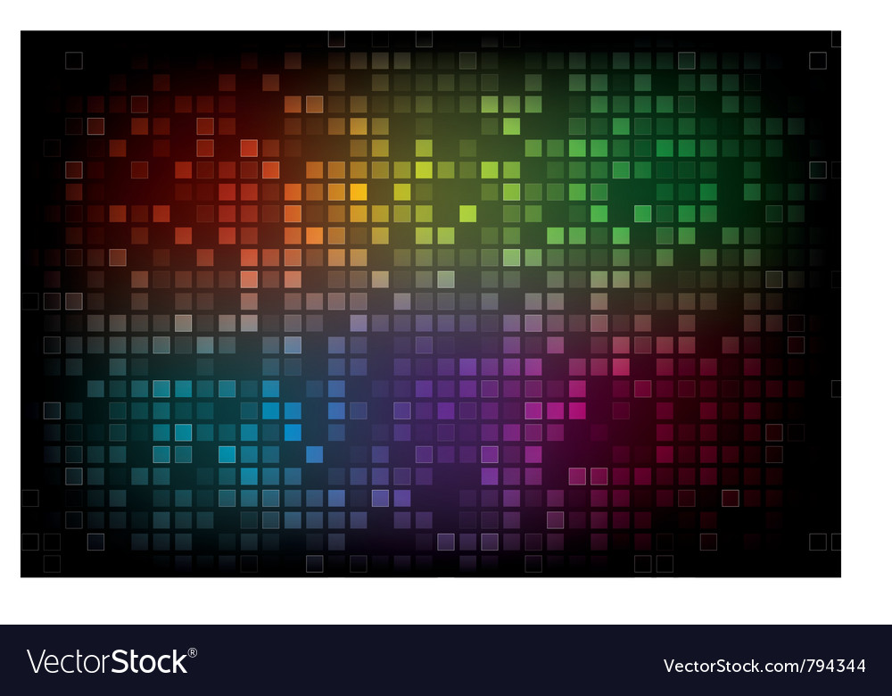 Color spectrum abstract background vector | Price: 1 Credit (USD $1)
