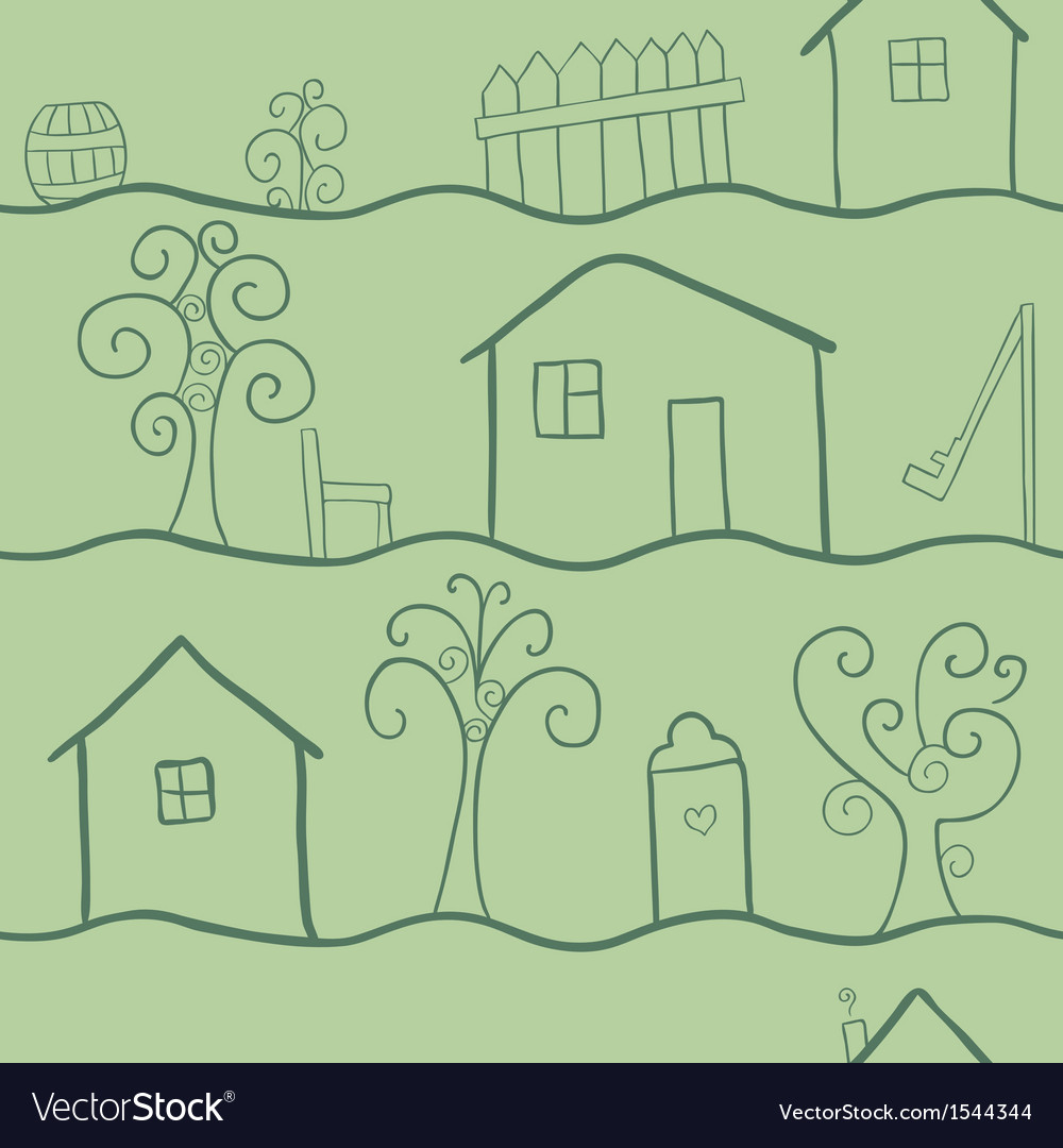 Country seamless pattern vector | Price: 1 Credit (USD $1)