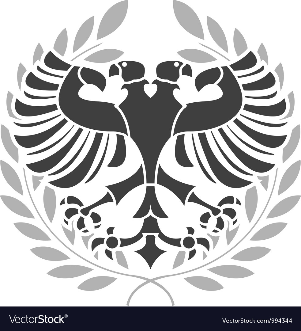 Heraldic eagle vector | Price: 1 Credit (USD $1)