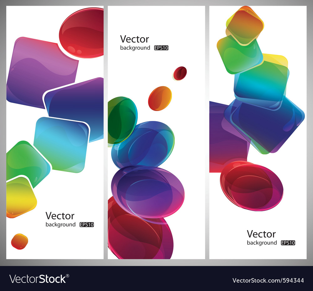 Modern style shapes vector | Price: 1 Credit (USD $1)