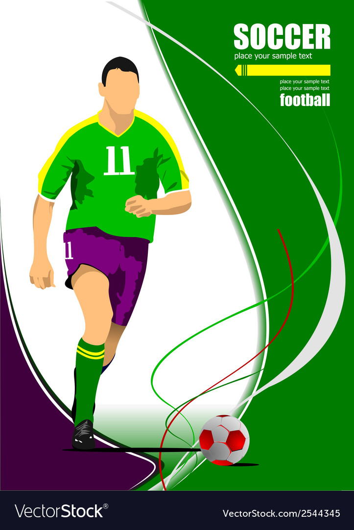Al 1001 soccer 02 vector | Price: 1 Credit (USD $1)