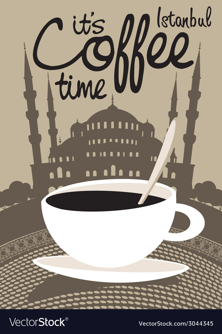 Coffee istanbul vector | Price: 1 Credit (USD $1)