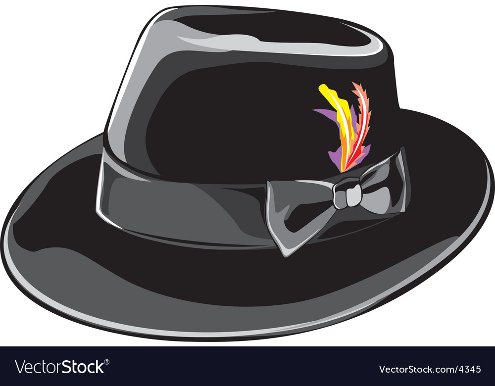 Fedora vector | Price: 1 Credit (USD $1)