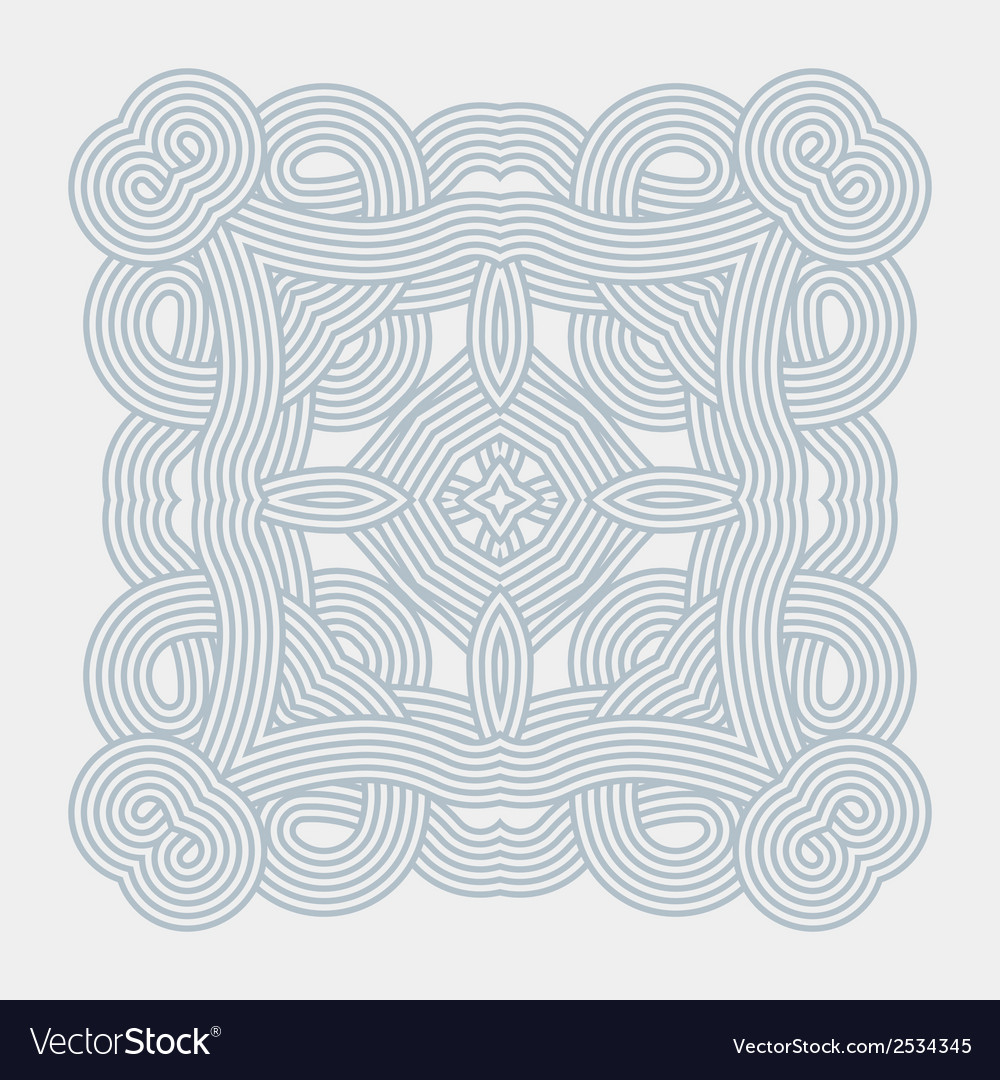 Seamless pattern geometric wallpaper vector | Price: 1 Credit (USD $1)