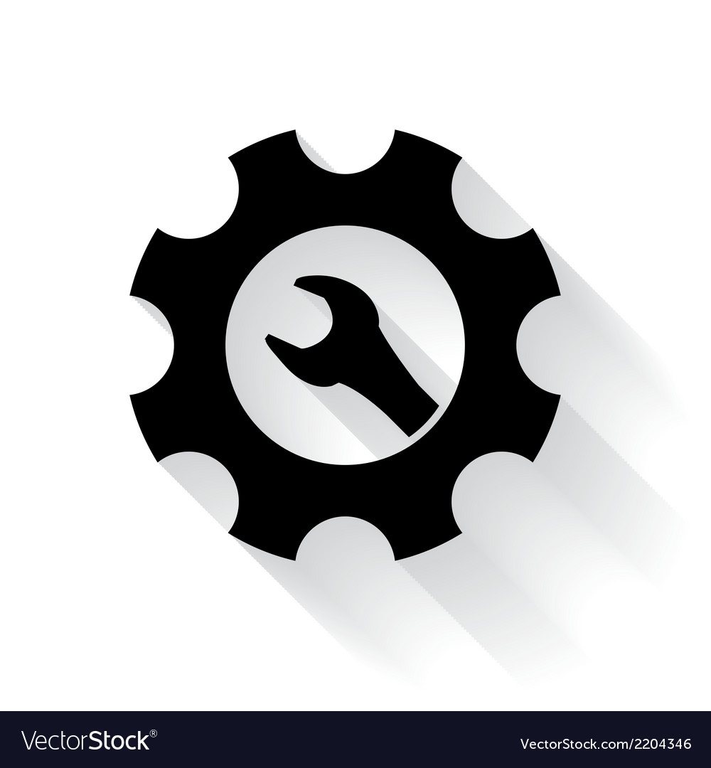 Maintenance symbol vector | Price: 1 Credit (USD $1)